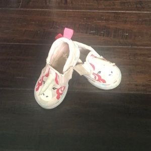 Unicorn vans baby shoes